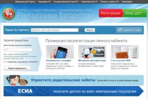 Портал государственных и муниципальных услуг Республики Татарстан