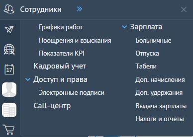 СБИС - Сотрудники