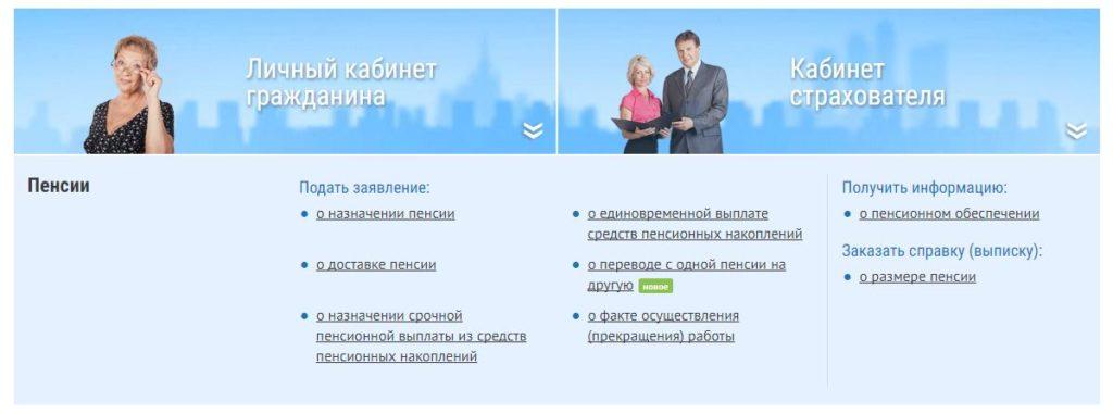 Официальный сайт ПФР - Личный кабинет гражданина