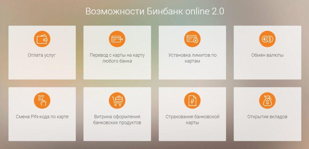 Возможности интернет-банка от МДМ Банк