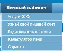 """Вкладка """"Личный кабинет""""на официальном сайте КВЦ Рязань"""