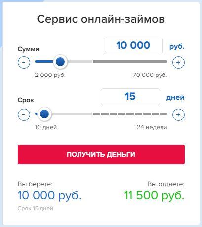 Конга - Сервис онлайн-займов