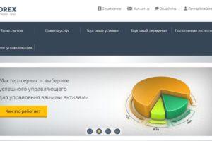 Официальный сайт профессионального брокера STForex