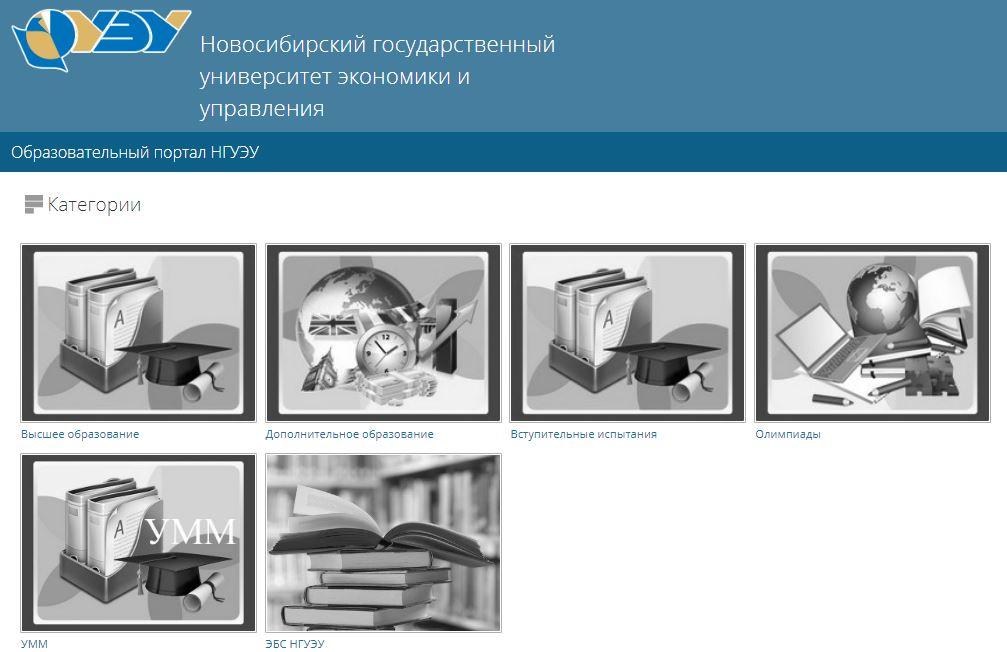 Moodle - Образовательный портал НГУЭУ
